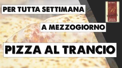 PIZZA AL TRANCIO AGOSTO